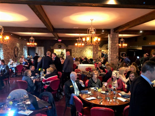 The Port Clinton Chamber of Commerce held is annual dinner on April 18.