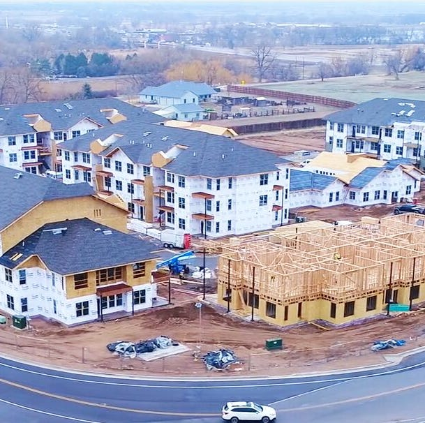 Timnath's first apartments will open in June