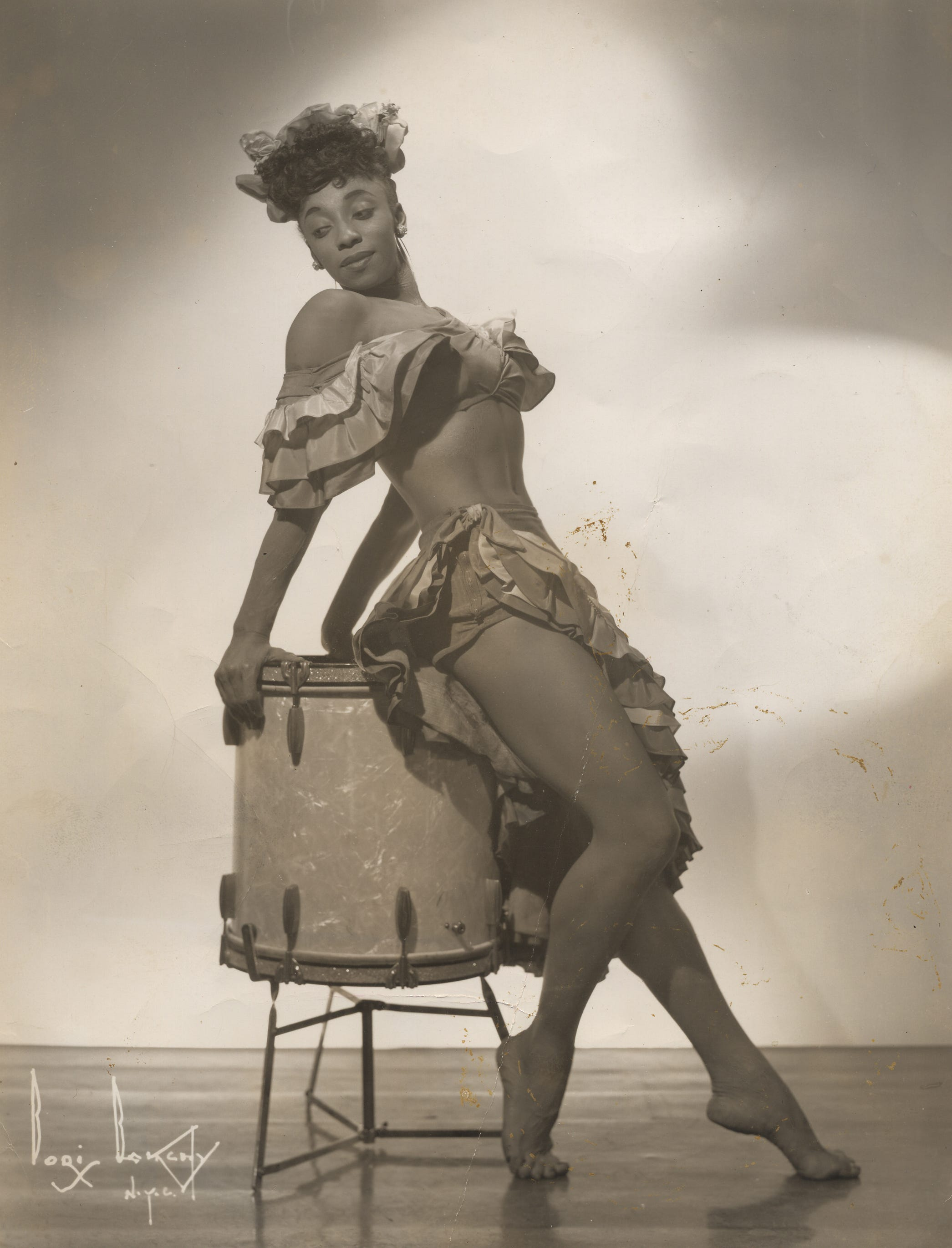 A young Norma Miller