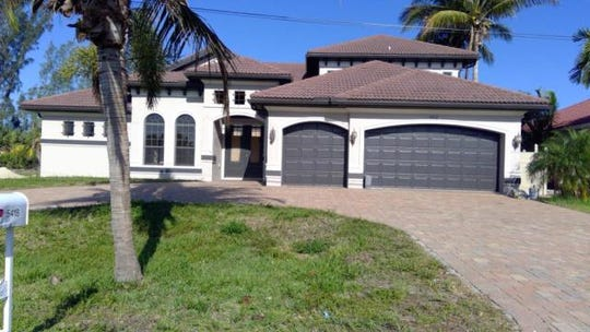 This house at 5418 SW 24th Place, Cape Coral, recently sold for $903,000.