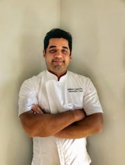 Wilberto Sauceda has been hired as executive chef at Fluor Field.