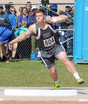 Sidney shot put specialist Carter Hughes is pushing 60 feet in the event, with his eyes set even higher.