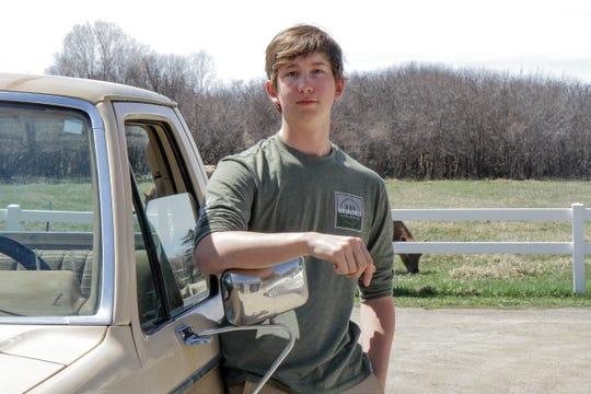 Daniel Asselstine, senior at Choteau High School