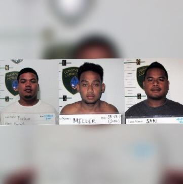 Three men accused of assaulting homeless man in East Hagåtña