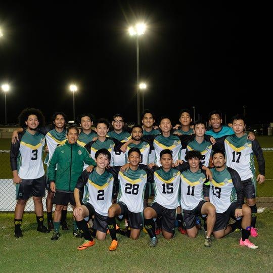 2019 University of Guam Men's Soccer Team