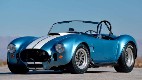 This 1967 Shelby 427 S/C Cobra Roadster from the Steven Juliano Estate Collection is one of the highlights of this year's Mecum Auction in Indianapolis.