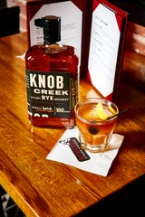 St. Elmo Steak House and 1933 Lounge use Knob Creek Straight Rye Whiskey in Pop's Old Fashioned.