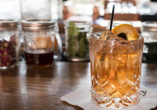 Wiseguys Lounge in the back of Goodfellas Pizzeria serves up an Old Fashioned that spotlights the whiskey.