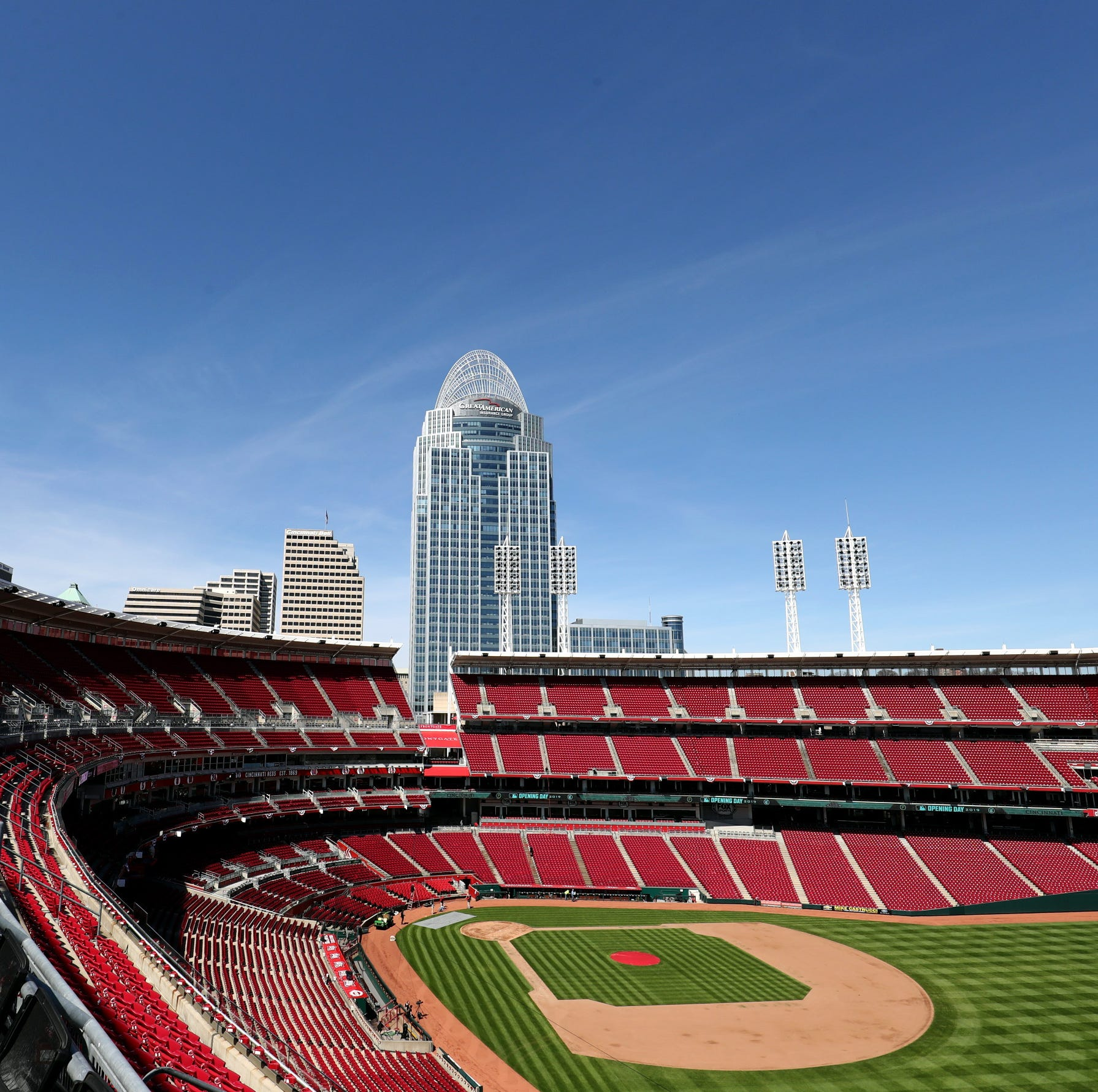 Bees just overtook the Reds game and caused a delay. Twitter reacted.