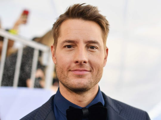 Justin Hartley will serve as honorary starter for Saturday's IndyCar Grand Prix at Indianapolis Motor Speedway.