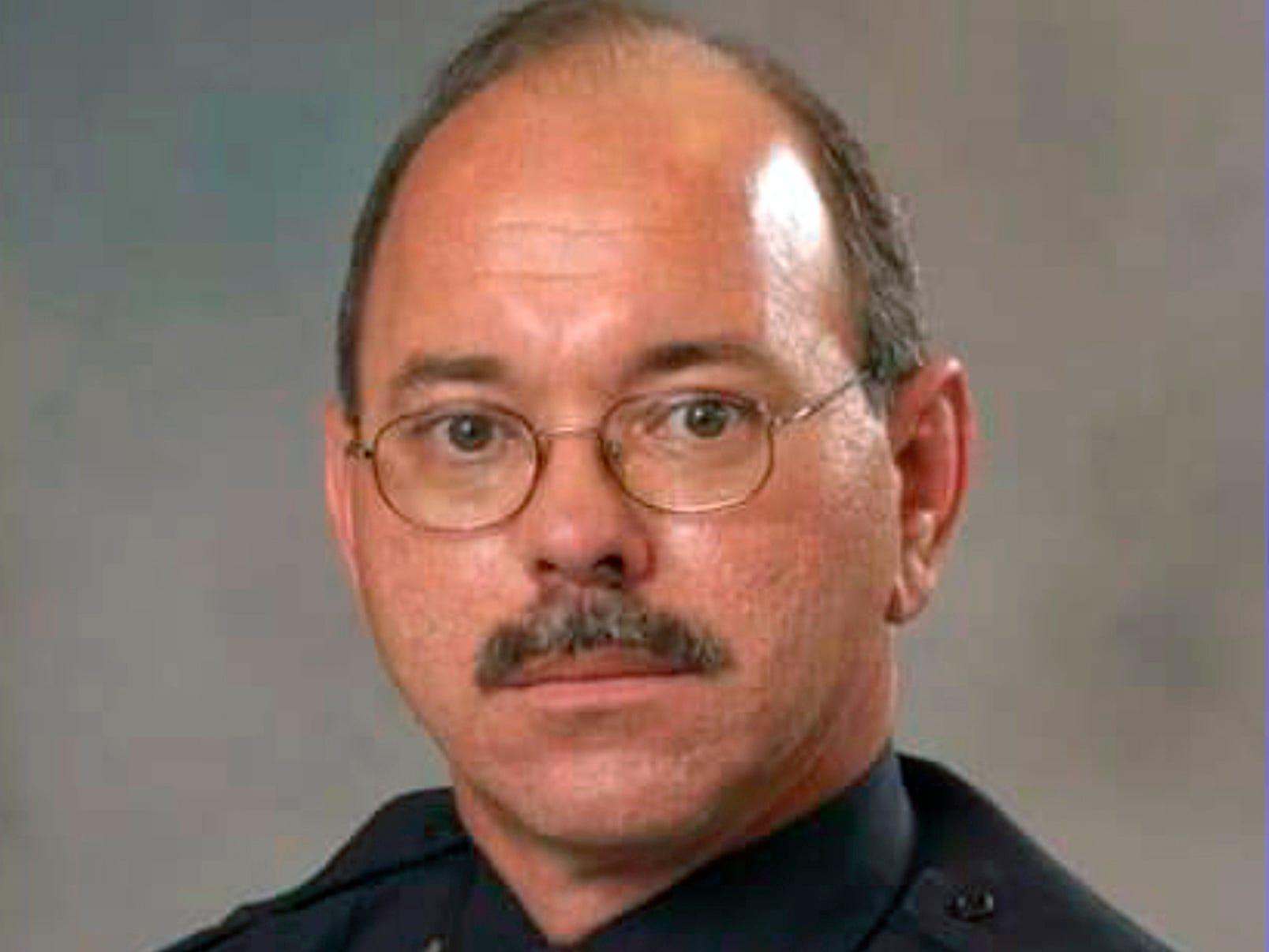 """Police officer Robert """"Mac"""" McKeithen"""