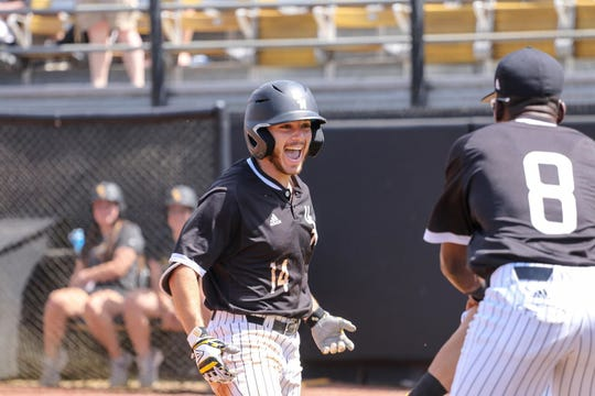 Gabe Montenegro's two-hit, one-RBI performance Sunday at the plate helped the Golden Eagles prevent a sweep by Florida Atlantic. Montenegro was one of seven Southern Miss players with a hit and at least one RBI in the game.