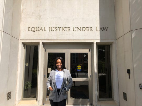 Chichi Nwaneri, 24, will graduate from the College of Law at the University of Tennessee-Knoxville on Friday. Originally from Nigeria, Nwaneri plans to use her law degree to help further education for girls in her home country.