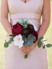 Something Borrowed Blooms rents silk floral arrangements for a fraction of the cost of real flowers.