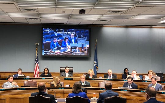 Photo Caption: Members of the influential House Committee on Ways and Means debated access to taxpayer data on Monday.