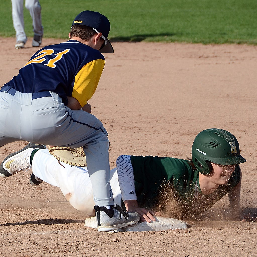 Prep roundup: Logan Tobel pitches shutout, hits two homers for Hartland baseball