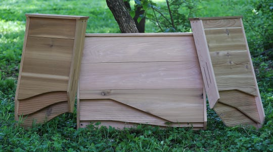 BatBnB designs these custom bat houses to attract bats to roost and control the insect population in the area. May 6, 2019