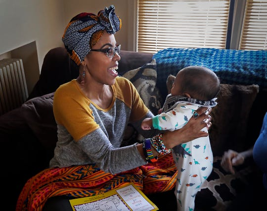 Doulas such as Vanessa Johnson provide support, education and advocacy for mothers during the pregnancy and delivery process, and afterward.