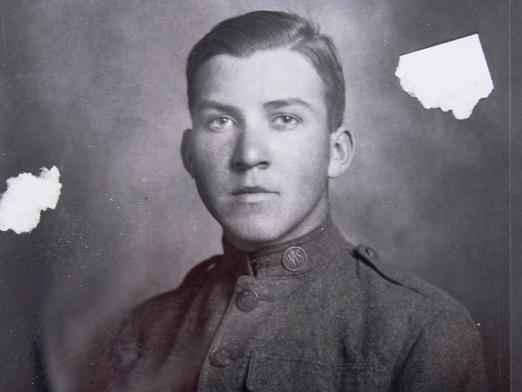 "John Haddock was 16 when he enlisted in the Wisconsin National Guard's 32nd ""Red Arrow"" Division to fight in World War I. Haddock was from Milwaukee."