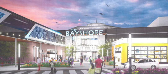 The proposed revamping of Glendale's struggling Bayshore Town Center would include $37 million in city financing.