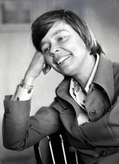 Kathryn Morrison was elected Wisconsin State Senator in 1974, the first woman in the state to serve the position.