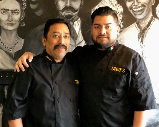 Gustavo Camacho And Anthony Gallarday are the father son team behind Tavo's Signature Cuisine.