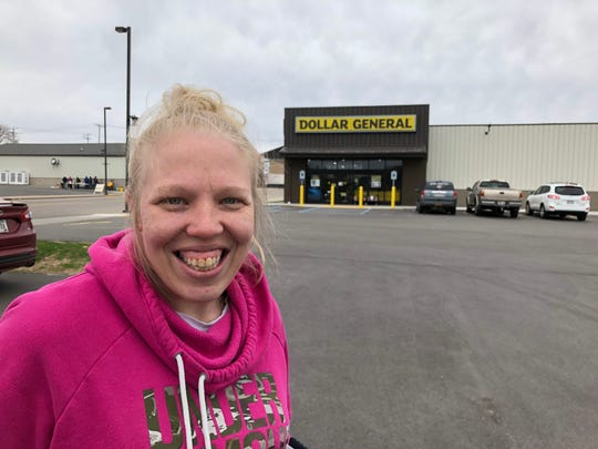 Lifelong Manawa resident Heather Sprenger has shifted much of her occasional food shopping from the city's independent grocery store to the recently opened Dollar General.