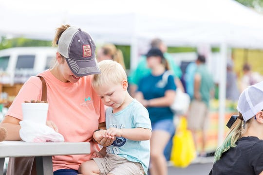 Thousands of shoppers attend the EastChase Farmers Market each Saturday. The Market will celebrate its 15 year with a grand opening on May 11 from 7 a.m. until noon.