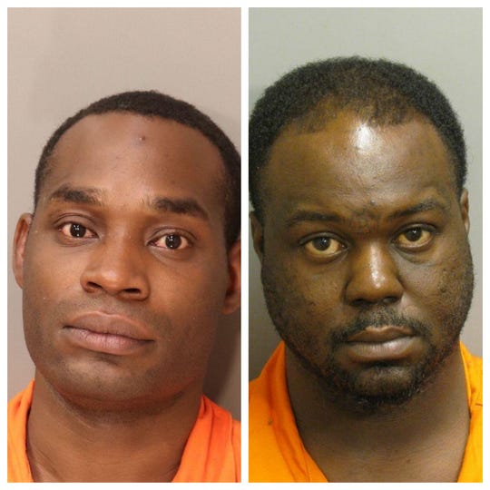 Johnathan Spooney and Antwon Jackson were each charged with first-degree robbery.