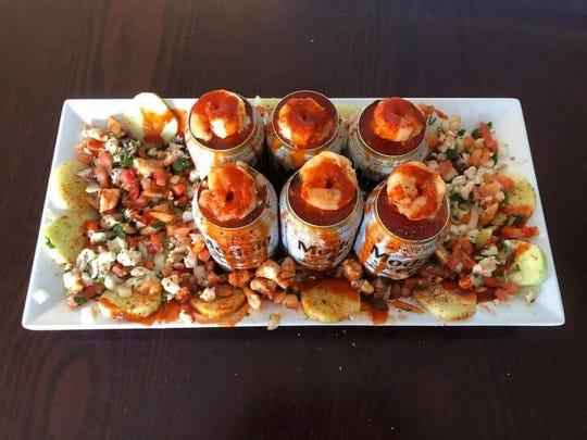 "Acapulco Burrito's ""Crazy Snack."""