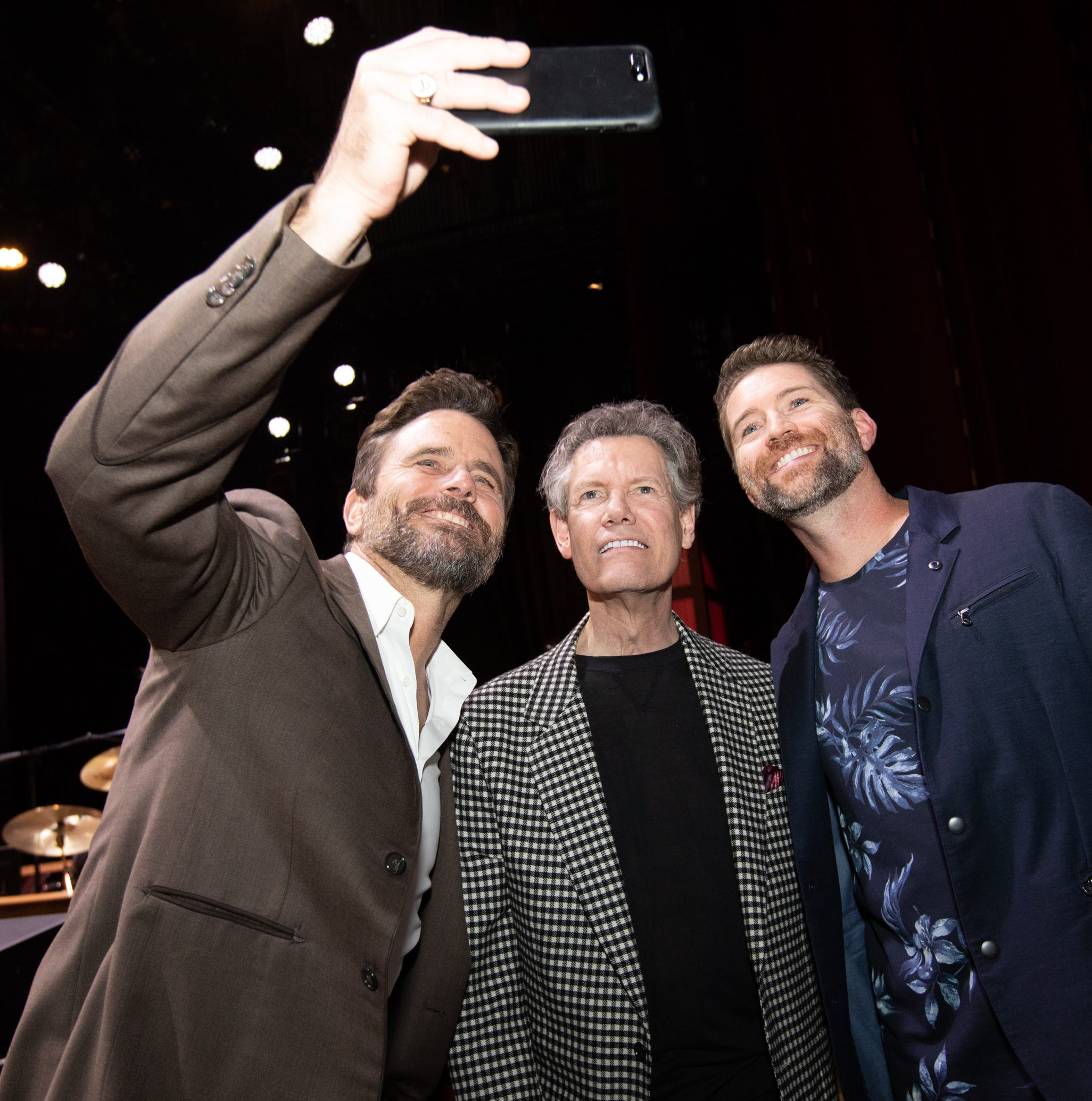Randy Travis celebrates 60th birthday with a star-studded party at Grand Ole Opry