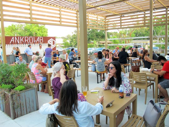 Ankrolab Brewing Co. launched Friday, May 3, 2019, on Bayshore Drive in East Naples.