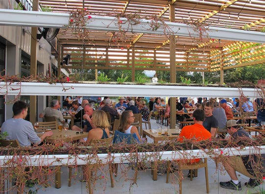 Ankrolab Brewing Co. launched Friday, May 3, 2019, with ha garden patio area at 3555 Bayshore Drive in East Naples.