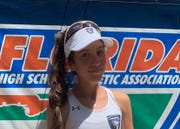 Lily Dounchis, Community School tennis