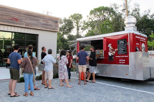 Jewban's Deli Dale food truck served guests on opening day at Ankrolab Brewing Co., which launched Friday, May 3, 2019, at 3555 Bayshore Drive in East Naples.