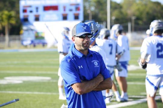 John Sivillo, Barron Collier boys lacrosse coach