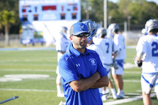 John Sivillo, Barron Collier boys lacrosse coach