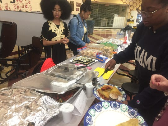 Fair attendees had the opportunity to sample an array of foods and desserts from various cultures.