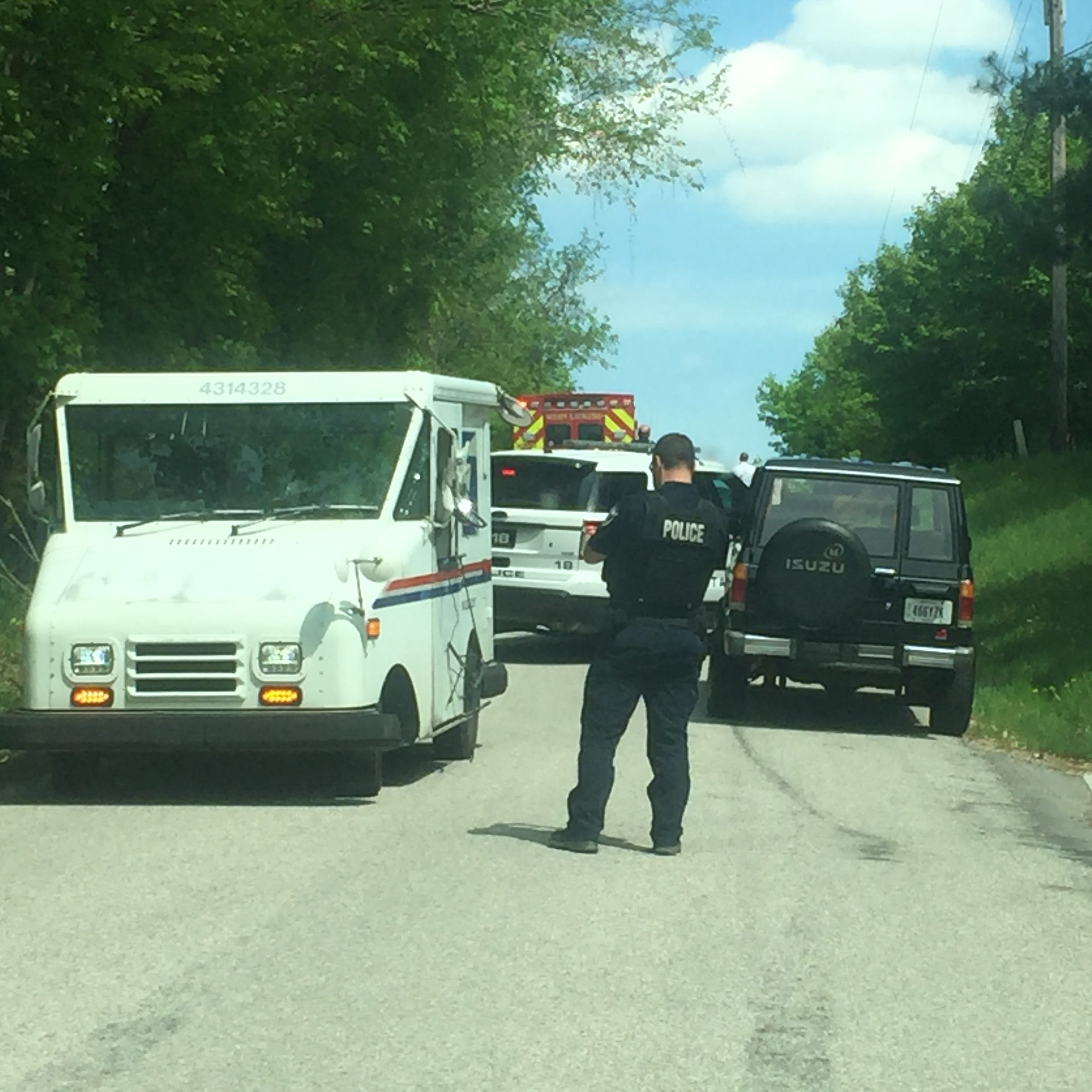 One treated after crash involving Licking Heights bus