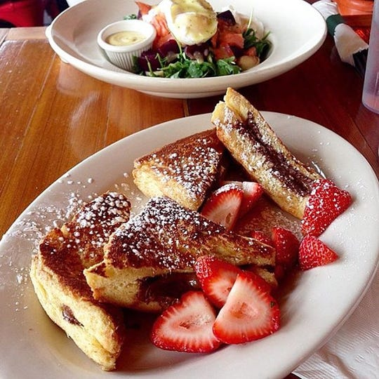 Nutella French Toast at Farmhouse Cafe & Eatery in Cresskill and Westwood