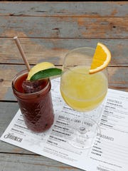 Bloody Mary and Mimosa at The Barrow House in Clifton