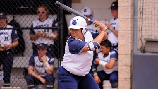 Former River Dell star Kayla Rosado has developed into a standout for Monmouth softball.