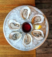 Oysters, a welcome starter for brunch at Cowan's in Nutley