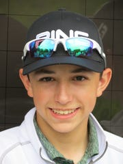 Midland Park's Mikey Folignani won the NJIC Division 2 golf title at Valley Brook GC in River Vale on Monday, May 6, 2019.