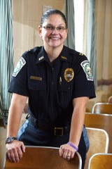 Cathy Madalone, the first woman to lead a municipal police department in Bergen County when named Bergenfield Police Chief in 2015, is leaving the post to become the police chief in Pacific Grove, Ca.