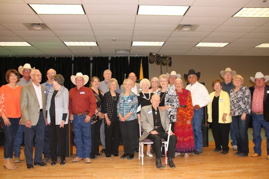 Past presidents of the Luna County Old Timers Association.