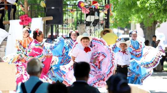 Ballet Folkorico de Ninos will perform at 6 p.m. on Saturday and at 2 p.m. on Sunday as part of the 70th annual Fiesta de Santa Ana Catholic Church at 400 S. Ruby Street in Deming, NM.