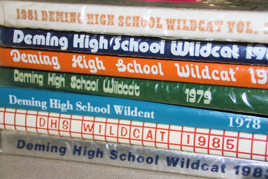 Various Deming High yearbooks