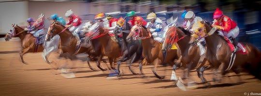 Ruidoso Downs Racetrack.