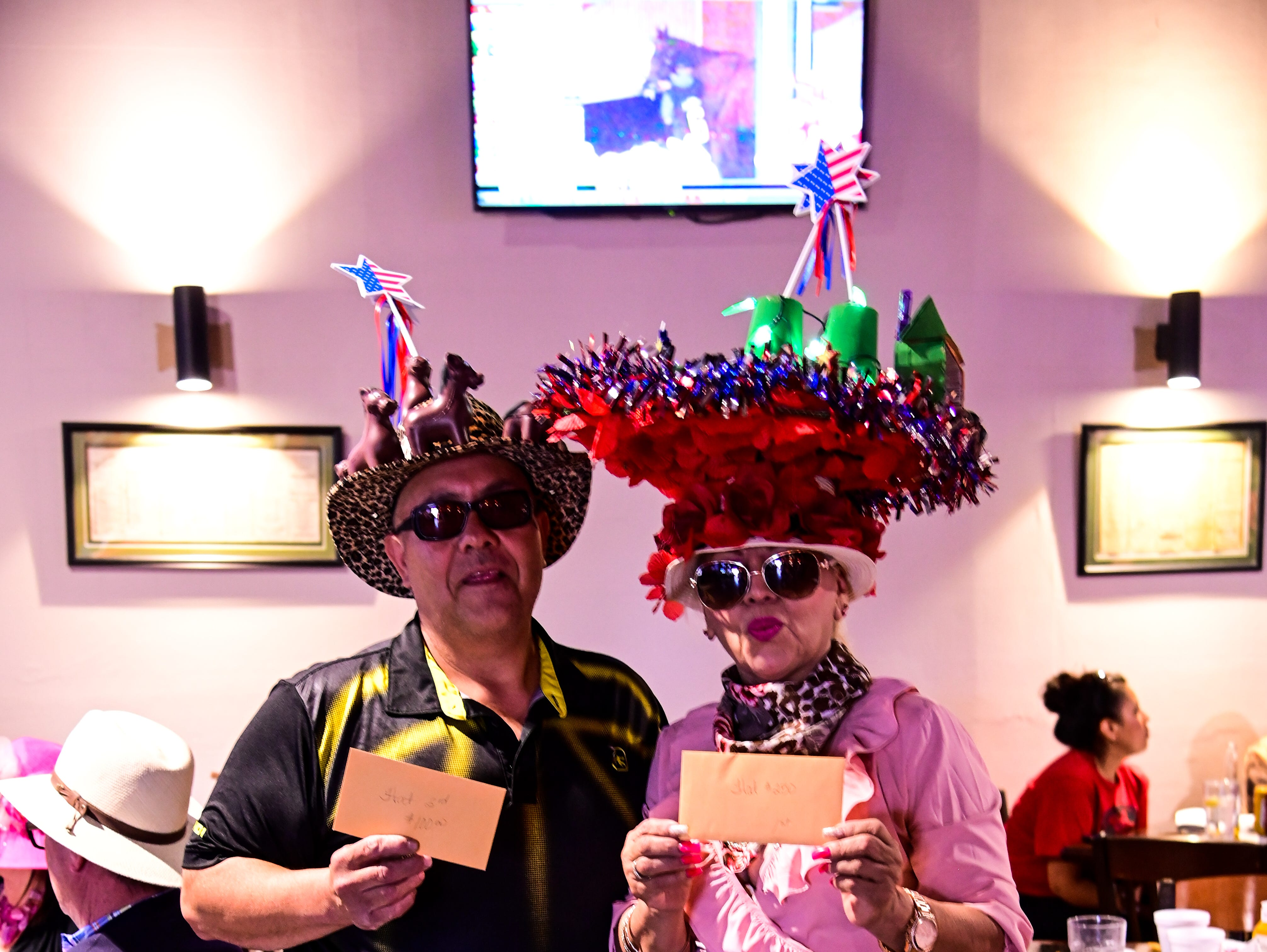 Ruidoso Downs Race Track and Casino hosted Kentucky Derby Hat Day May 4.